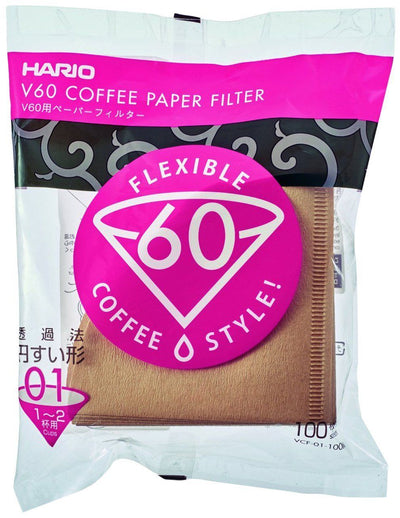 Paper Misarashi Filter for Hario Drippers - 100 Count