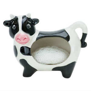 Boston Warehouse Cow Scrubby Holder