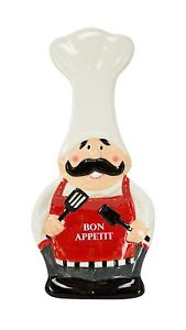"Boston Warehouse ""Bon Appetit"" Spoon Rest"