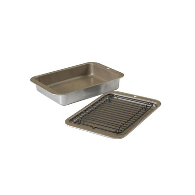Nordic Ware Compact Ovenware 3 Piece Grill & Bake Set