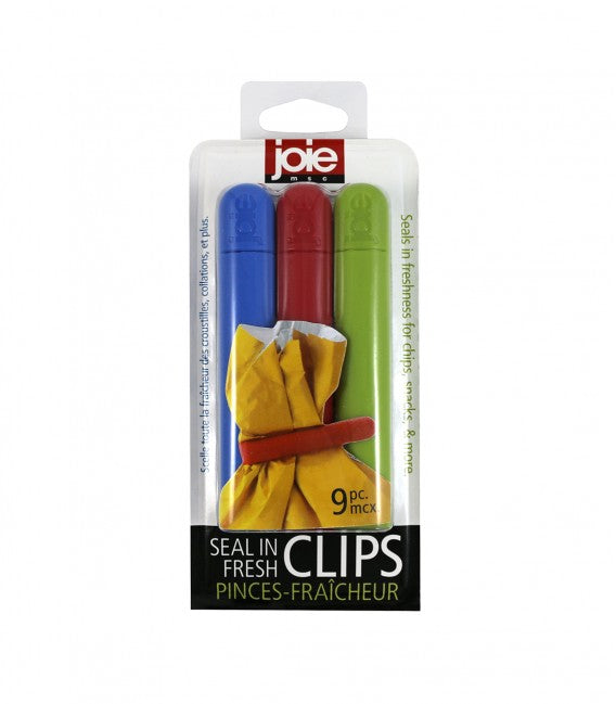 Joie Bag Clips - Set of 9