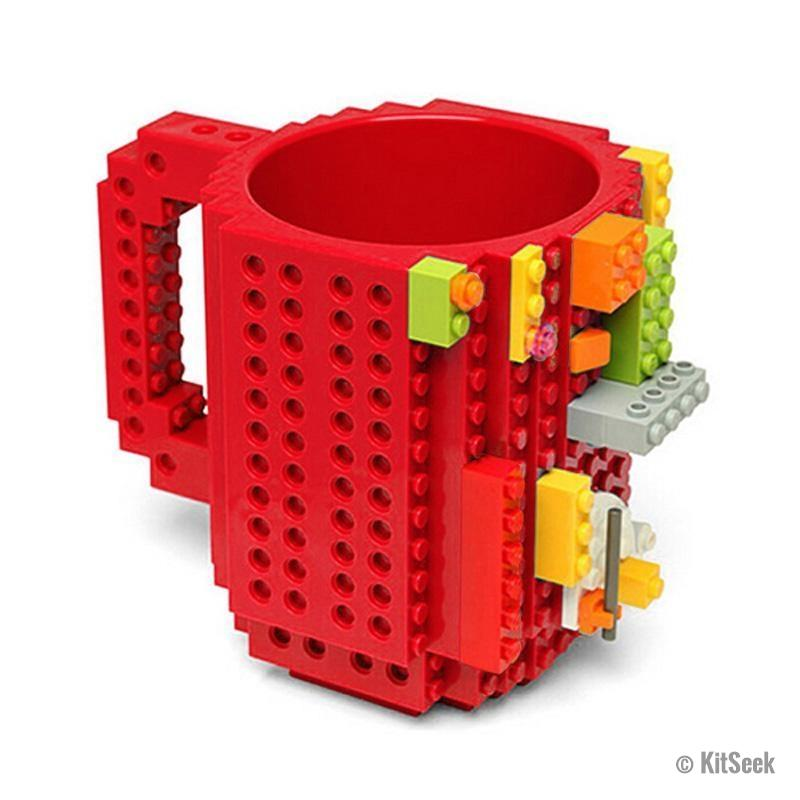 Lego Upscaled Mug | Creative, Build-On Brick Mugs | KitSeek