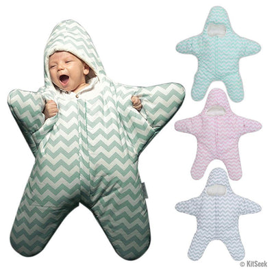 Baby Starfish Sleeping Bag For Winter - KitSeek