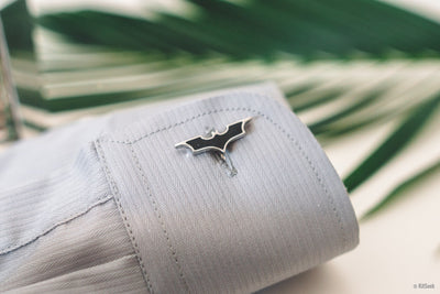 Batman Symbol Cufflinks - KitSeek