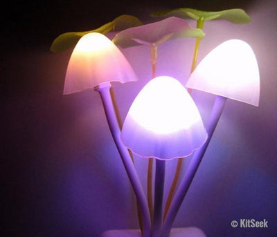 Mushroom Night Lights For Kids - KitSeek