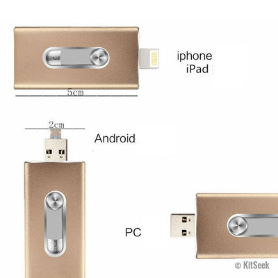 IOS Flash Drive 8GB - 64GB - KitSeek