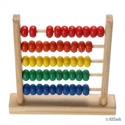 wooden abacus for kids
