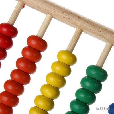 Children's Wooden Abacus - KitSeek