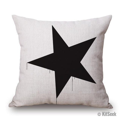 Romantic Modern Simple Multi-Pattern Decorative Pillows - KitSeek