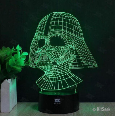 Star Wars Hologram Desktop Lamp - KitSeek