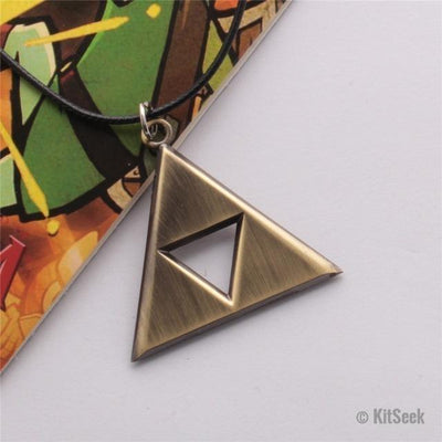 Legend of Zelda Triforce Pendant Necklace - KitSeek