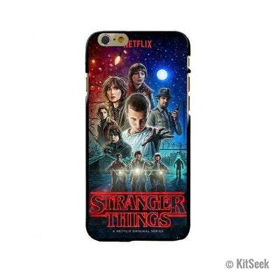 Design 6 Silicone Phone Case From Stranger Things