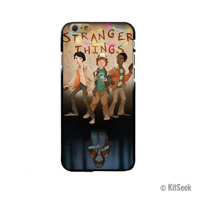 Kids Wall Silicone Phone Case From Stranger Things