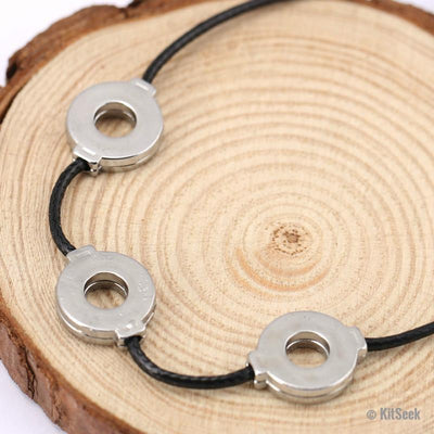3 Loop Naruto Titanium Steel Necklace - KitSeek