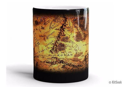 The Lord Of Rings Ceramic Heat Changing Mugs - KitSeek