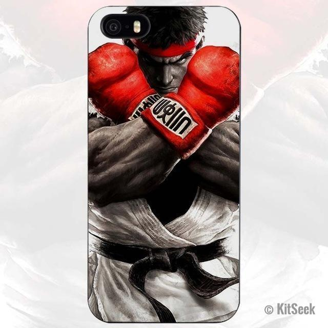 Street Fighter Plastic Case Cover for iPhone
