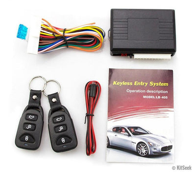 Keyless Vehicle Entry System - KitSeek