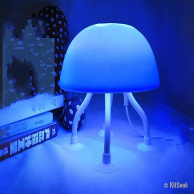 USB Power Dual-Purpose LED Jellyfish Desk Lamp - KitSeek