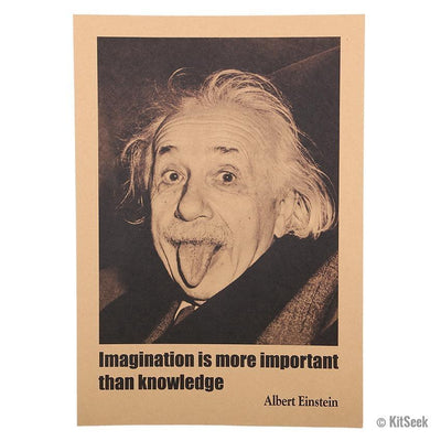 ImagineAlbert Einstein Quote Poster - KitSeek