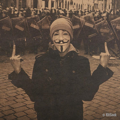 Anonymous Revolution Poster - KitSeek