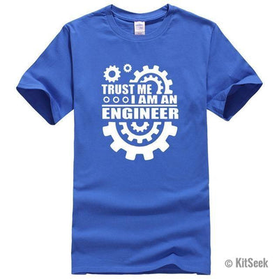 Trust Me I Am An Engineer Mens T-Shirt - KitSeek