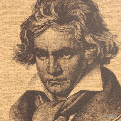 Famous Classical Musician Beethoven Poster - KitSeek