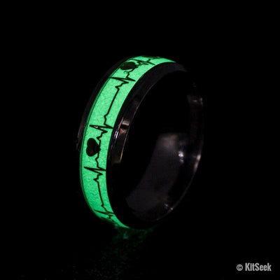 Luminous Heartbeat Ring - KitSeek