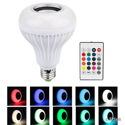 Wireless Bluetooth Speaker Bulb - KitSeek