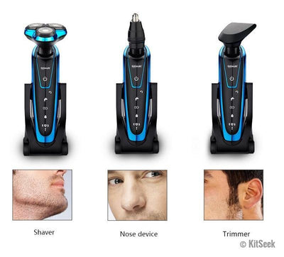 Men Washable Electric Shaver - KitSeek