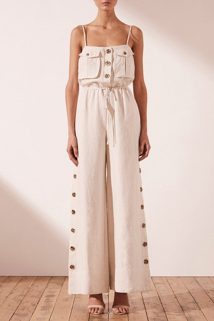 ALUARO SAFARI JUMPSUIT