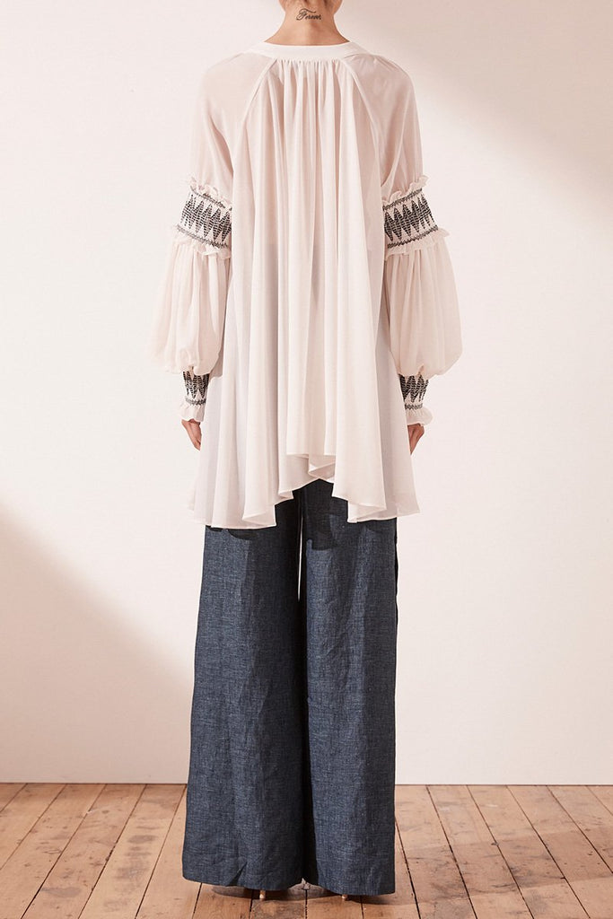 SALCEDO OVERSIZED BLOUSE