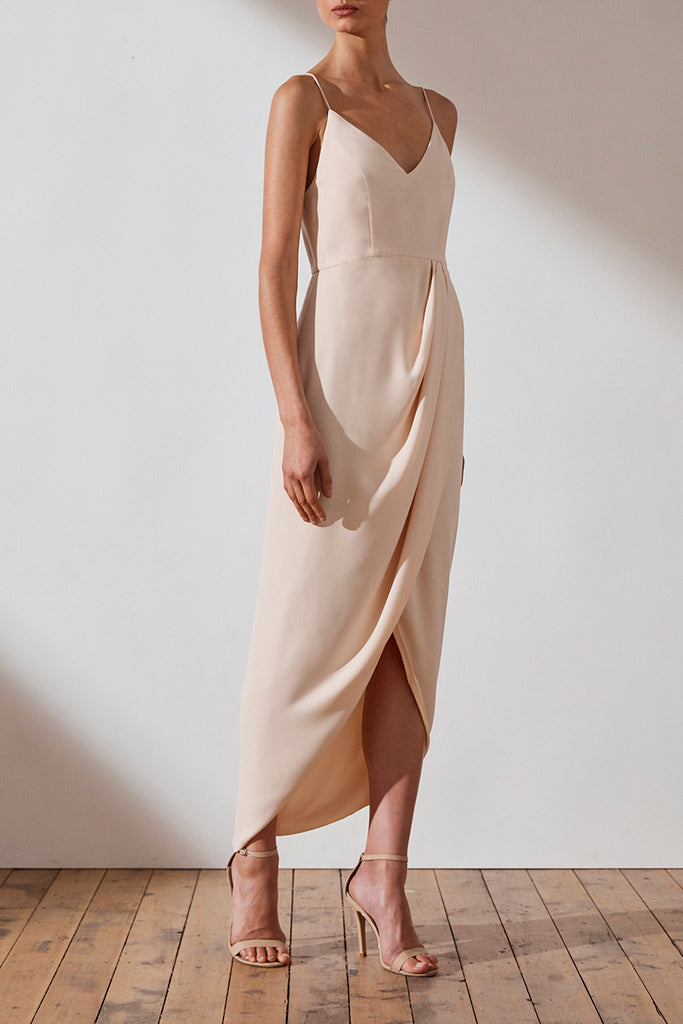 4f356ef15b CORE COCKTAIL DRESS - NUDE