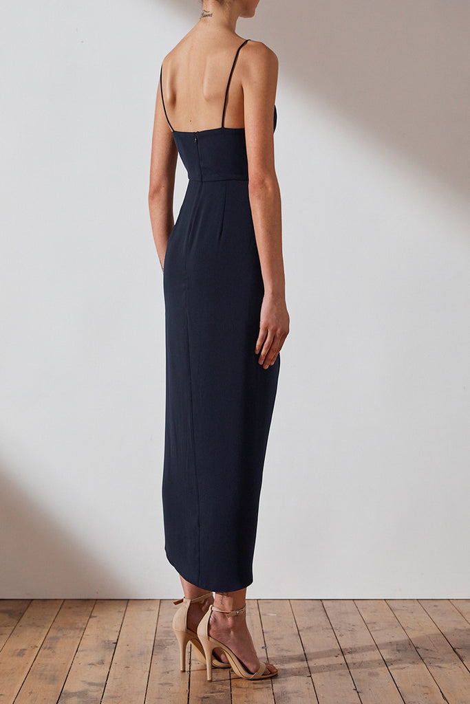 CORE COCKTAIL DRESS - NAVY