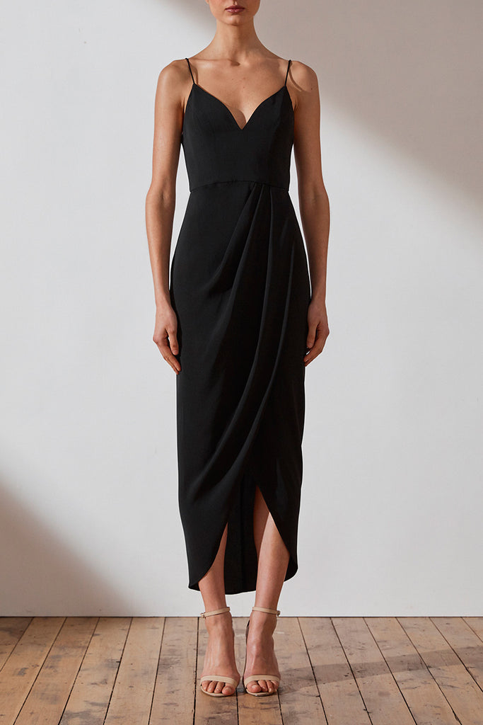CORE COCKTAIL DRESS - BLACK
