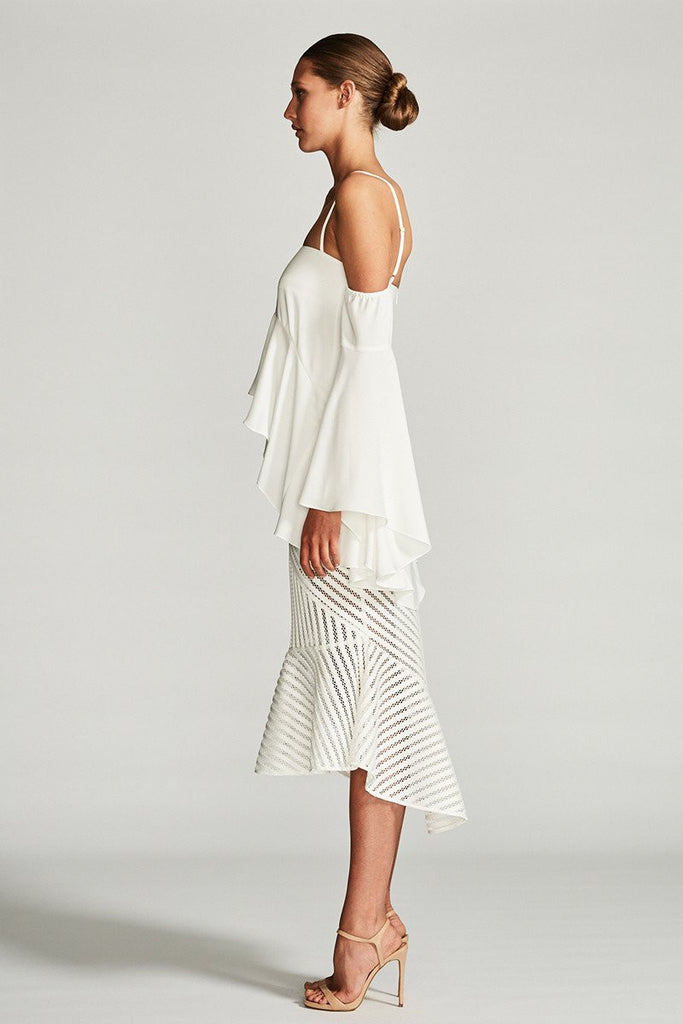 CASSIOPEA OFF THE SHOULDER BLOUSE - IVORY