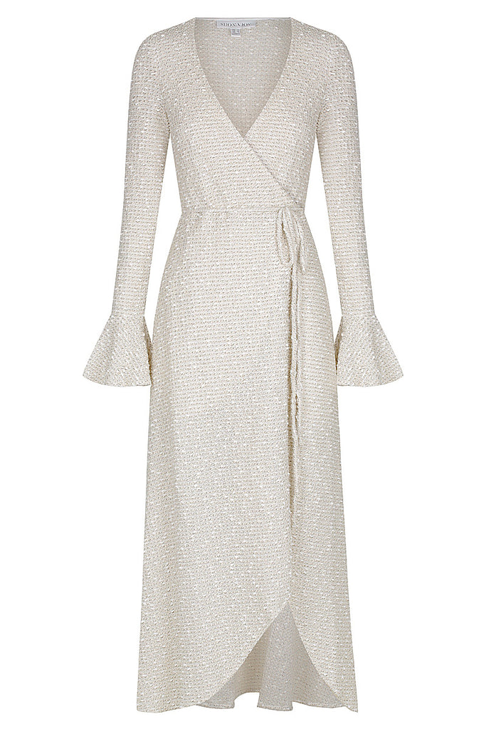 HAYES WRAP MIDI DRESS
