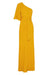 LAUTNER ONE SHOULDER BIAS MAXI DRESS - SAFFRON