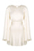 LA LUNE BACKLESS MINI DRESS - CREAM