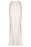LA LUNE BIAS MAXI SKIRT - CREAM