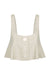 SAVANNAH LINEN CROP TOP - NATURAL