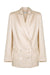 WREN LINEN DOUBLE BREASTED JACKET - ECRU