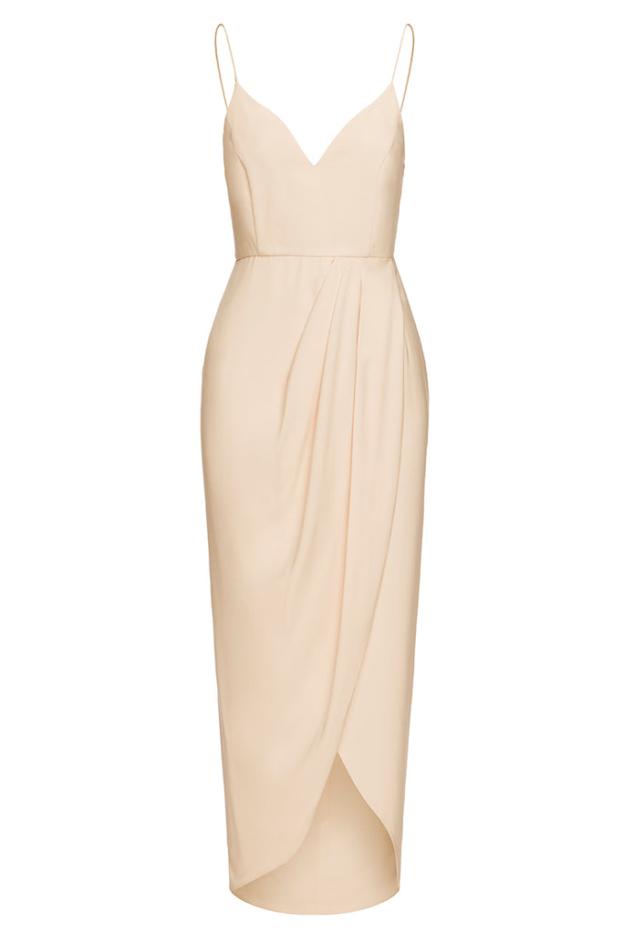 CORE COCKTAIL DRESS - NUDE