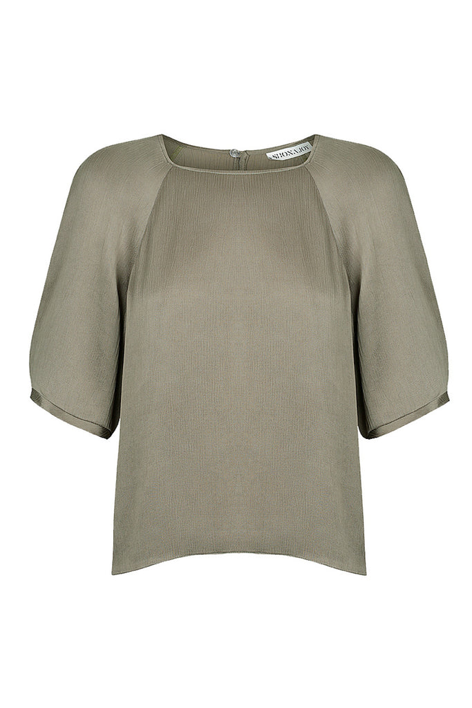 ELTON RELAXED TEE - OLIVE
