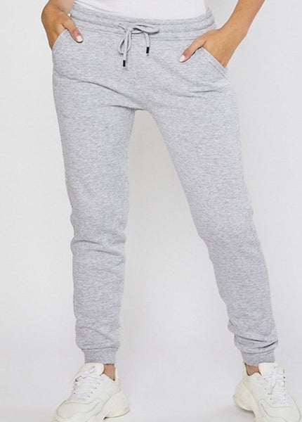 Not So Basic Joggers - Heather Gray