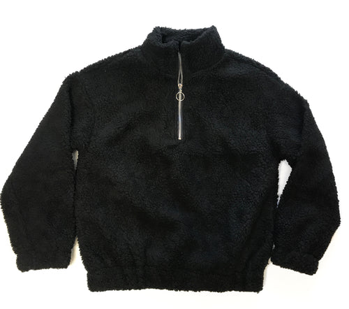 Teddy Sherpa Sweater  - Kris Janel