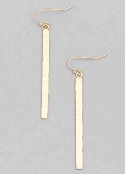 Napa Textured Earrings  - Kris Janel