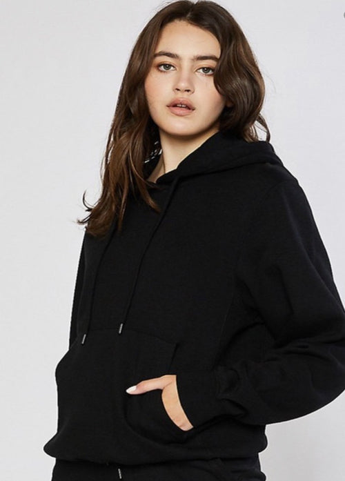 Not So Basic Hoodie - Black
