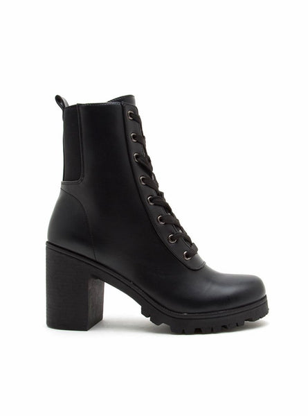 Legendary Lace Up Bootie  - Kris Janel