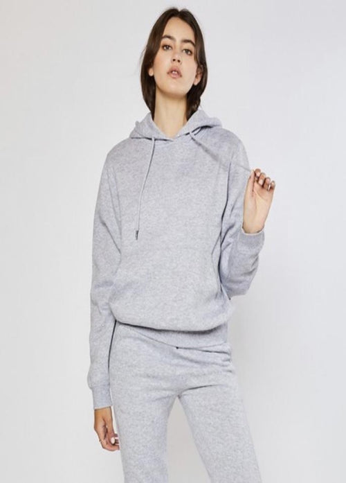 Not So Basic Hoodie - Heather Gray