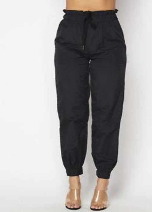 Windbreaker High Waist Joggers